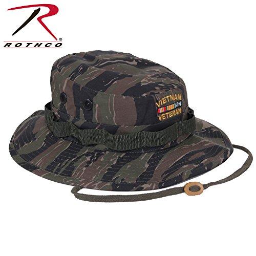 Rothco Vietnam Veteran Boonie Hat, Tiger Stripe, 7.75 (Vietnam Veterans Stripe)