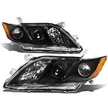 Toyota Camry Pair of Projector Headlight (Black Housing Amber Corner) - XA40