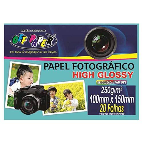 Papel Fotografico, Off Paper, 10066, Branco