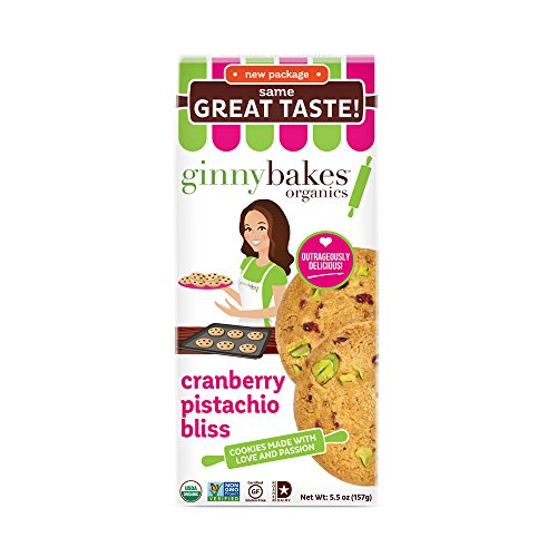 ginnybakes organics Organic Cranberry Pistachio product image