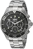 Invicta Men's 'Pro Diver' Quartz Stainless Steel Diving Watch, Color:Silver-Toned (Model: 22035)