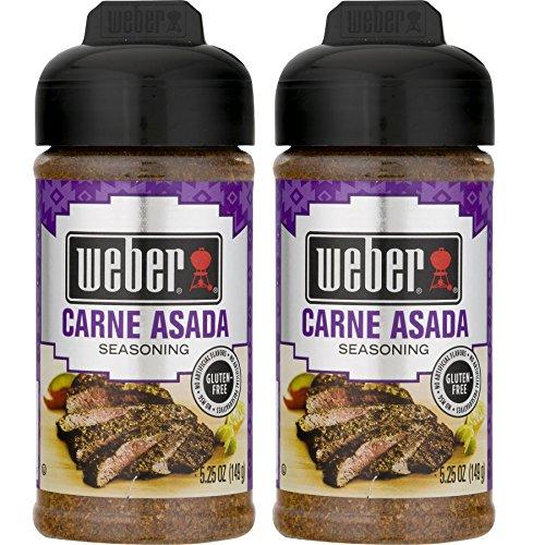 Weber Carne Asada Seasoning ( Pack of 2 ) (Best Carne Asada Marinade)