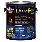 GARDNER-GIBSON 1/20/5530 Black Jack 3.6 quart Ultra-Roof 1000 10 Year White Siliconized Elastomeric Roof Coating by Gardner-Gibson