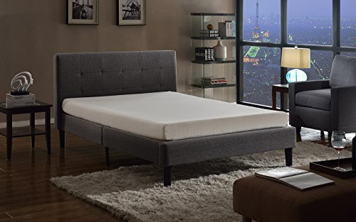 Swiss Ortho Sleep 6-Inch High-Density 2x Layered Twin Memory Foam Mattress with Bamboo Cover by Swiss Ortho Sleep