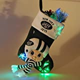 New York Jets Fiber Optic Stocking