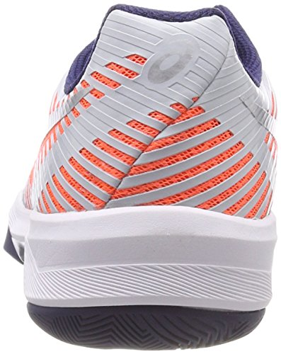 Asics Women's Volley Elite Ff Volleyball Shoes Orange (Flash Coral/Glacier Grey/Indigo Blue 0696) zPGfaf