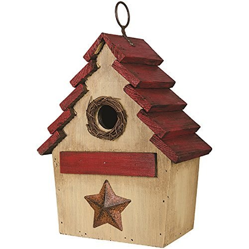 Carson Nest Birdhouse 7.5 Inches Length x 4.5 Inches Width x 11.5 Inches Height Wood Home Decor For Sale