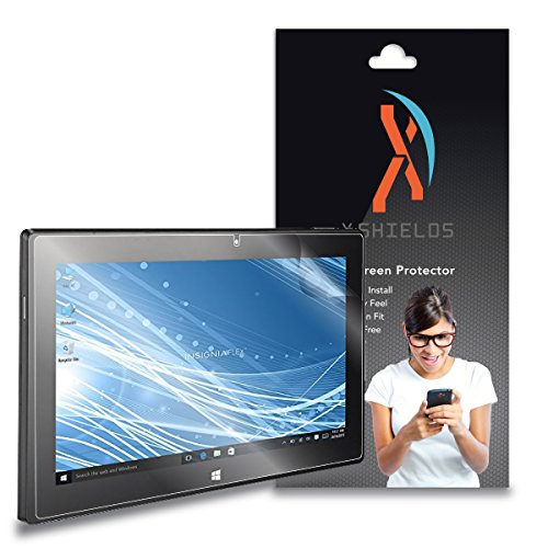 XShields High Definition (HD+) Screen Protectors for Insignia Flex 11.6 Tablet (Maximum Clarity) Super Easy Installation [2-Pack], Advanced Touchscreen Accuracy