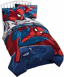 Marvel Spiderman Burst Twin Comforter - ...