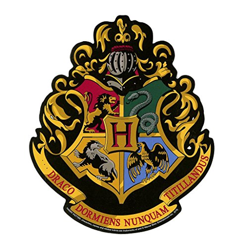 Harry Potter Hogwarts Crest OriginalStickers0363 Set Of Two (2x) Stickers , Laptop , Ipad , Car , Truck , Size 4 inches on Longer Side (Crest Sticker)