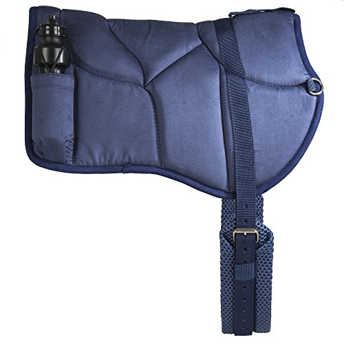 Best Friend Western Style Bareback Saddle Pad, Navy