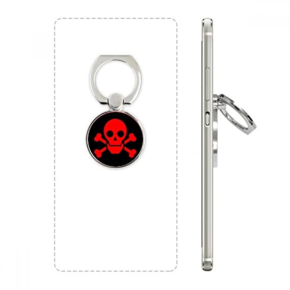 Amazon Red Dangerous Chemical Toxic Radiation Symbol Cell Phone