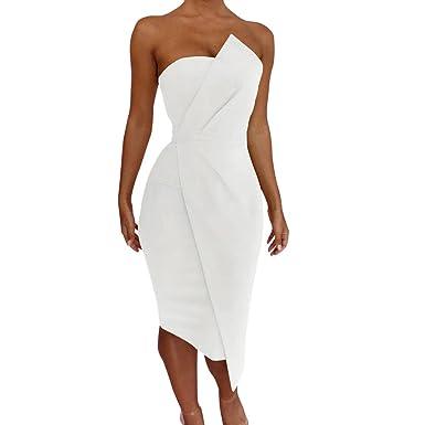 6c265d75cbe Robe Femmes Chic Soirée Dentelle Robe Élégante Manches Longues Robes  Cocktail pour Mariage Femmes Sexy Épaule