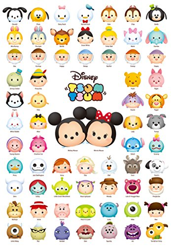 Tenyo Disney Tsum Tsum Line Up! Jigsaw Puzzle (1000 - Outlets Orlando Retail