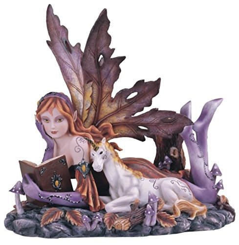 stealstreet-ss-g-91564-purple-fairy-with-unicorn-collectible-figurine-decoration-statue-decor