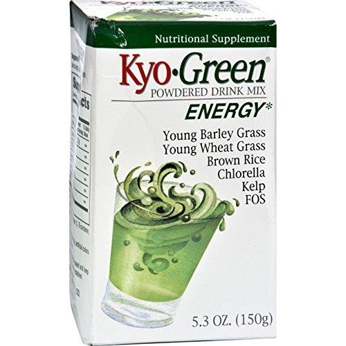 - Kyolic Kyo-Green Energy Powdered Drink Mix - 5.3 oz
