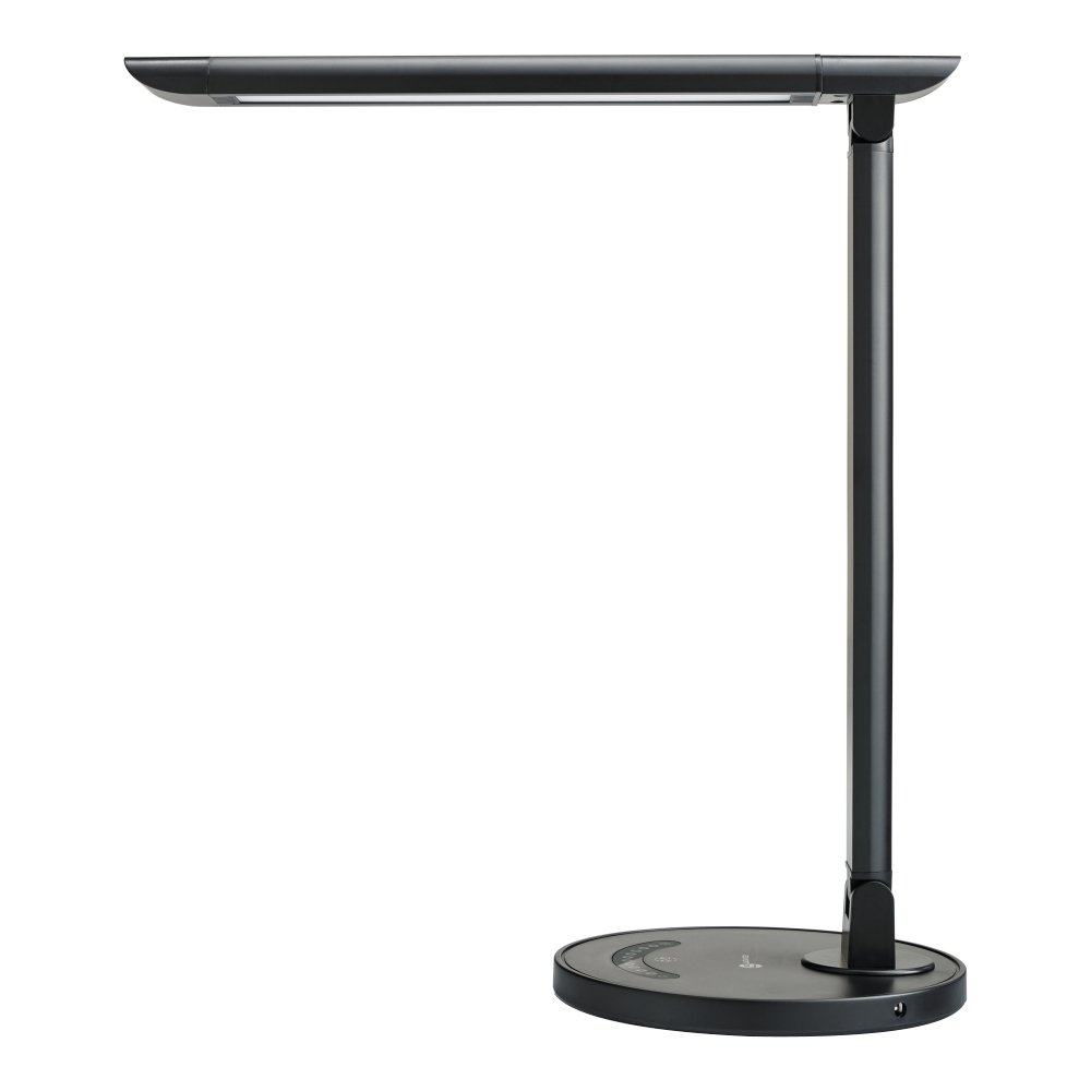 Led Table Lights Part - 29: TaoTronics LED Desk Lamp Eye-caring Table Lamps, Dimmable Office Lamp With  USB Charging Port, Touch Control, 5 Color Modes, Black, 12W - - Amazon.com