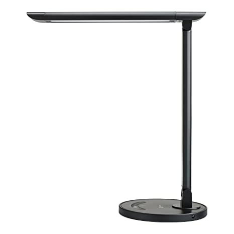 table lamps for office. TaoTronics LED Desk Lamp, Eye-caring Table Lamps, Dimmable Office Lamp With USB Lamps For R