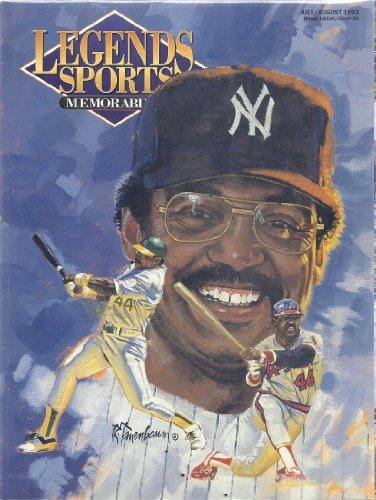 Legends Sports Memorabilia (July/August 1993 - Hobby Edition/Cover 48 - Reggie Jackson Cover)