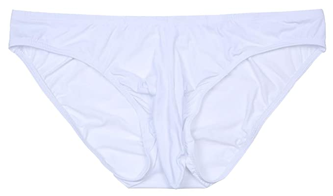 daadaac66964 Amazon.com: ONEFIT Men's Sexy Elephant Nose Milk Silk Triangle Underwear  Biniki Briefs: Clothing