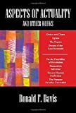 img - for Aspects of Actuality by Ronald F. Davis (2009-02-25) book / textbook / text book