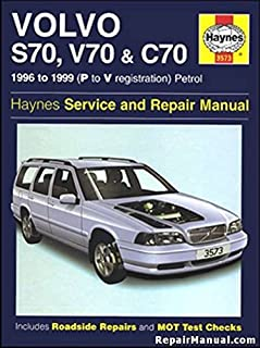 volvo s70 c70 and v70 service and repair manual haynes service and rh amazon com Ford Auto Repair Manuals Online Library Auto Repair Manuals
