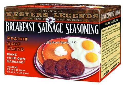 Hi Mountain Jerky Prairie Sage Breakfast Sausage Seasoning