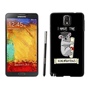 NEW Unique Custom Designed For Case HTC One M7 Cover Phone Case With I Have The Koalafications_Black Phone Case