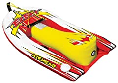 EZ SKI TRAINER PUTS THE FUN BACK INTO TEACHING YOUNG SKIERS! Heading for the lake but dreading the task of teaching another young skier? AIRHEAD EZ SKI to the rescue! EZ Ski is a revolutionary inflatable water ski hybrid with integrated woode...