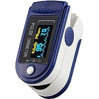 Oximeter, OLED Blood Oxygen Saturation Spo2 Pulse Rate Alarm Monitor Fingertip Pulse Oximeter