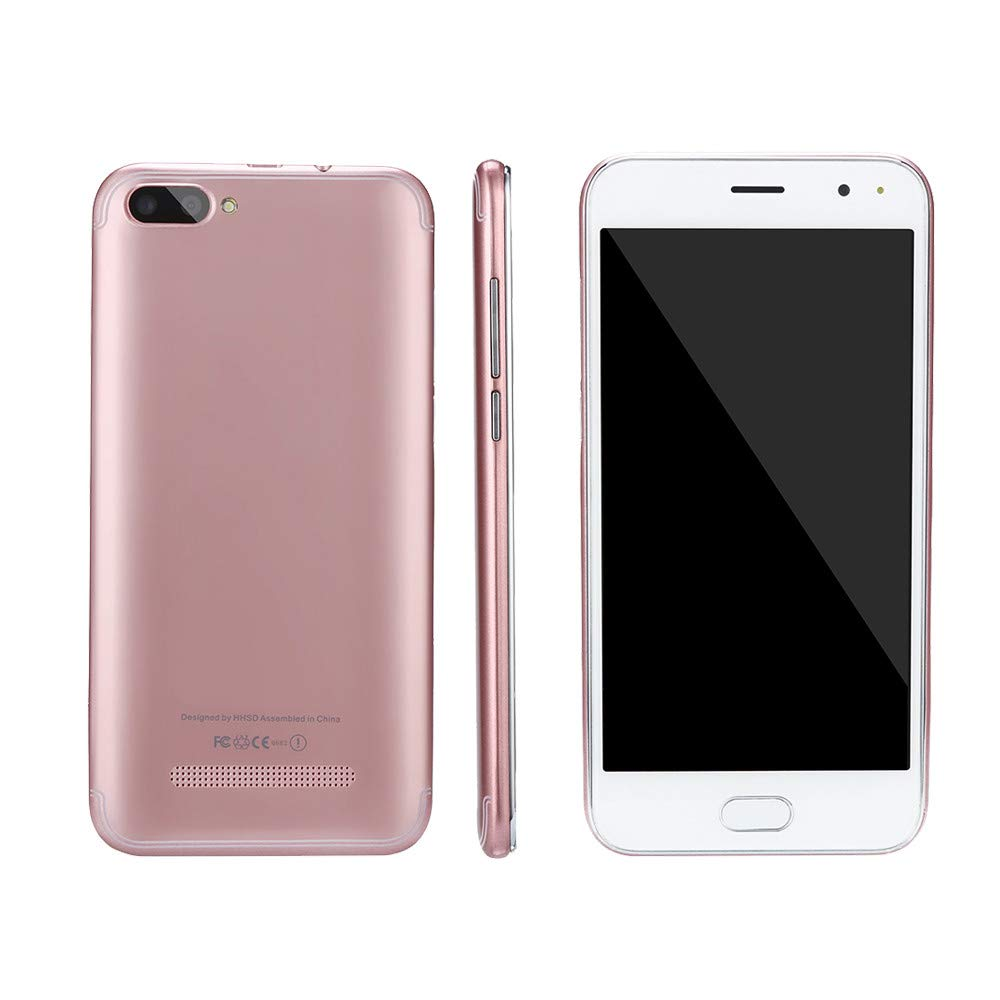 Unlocked Smartphone Cellphone, 5.7 inch Dual SIM Dual HD Camera Cell Phone Android 5.1 256M+512M GPS 3G Mobile Phone (Rose Gold, P113) by Aritone (Image #3)