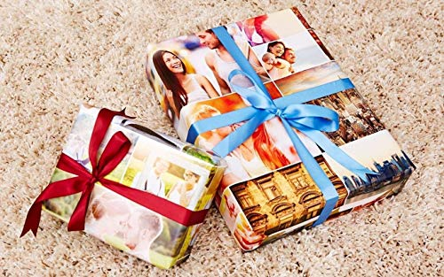 Custom Wrapping Paper- Personalized Wrapping Paper with Photos or Images
