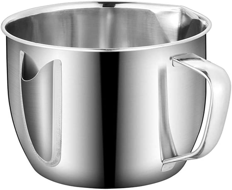 KINHOO Stainless Steel Sauce Oil Soup Grease Separator Oiler Filter Strainers Bowl Cooking Oil Soup Strainer Kitchen Cup Tools