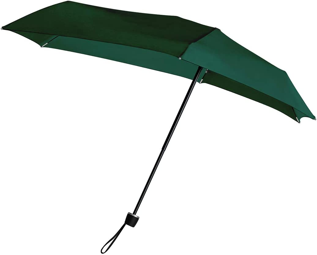 傘 耐風 Senz センズ マイクロ 折りたたみ傘 雨傘 日傘 超軽量 晴雨兼用 紫外線 UVカット ベルベットグリーン 80x74cm senz401-VG