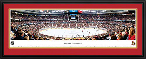 Ottawa Senators - Blakeway Panoramas NHL Posters with Deluxe Frame