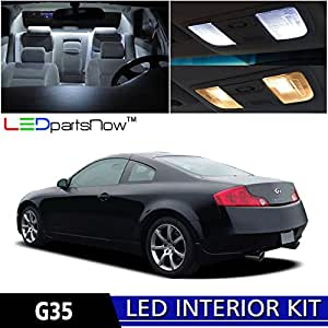 ledpartsnow 2003 2007 infiniti g35 coupe led. Black Bedroom Furniture Sets. Home Design Ideas