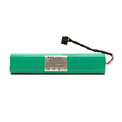 Sr. Batería de repuesto 3600 mAh Ni-MH batería para Neato Botvac 70e,