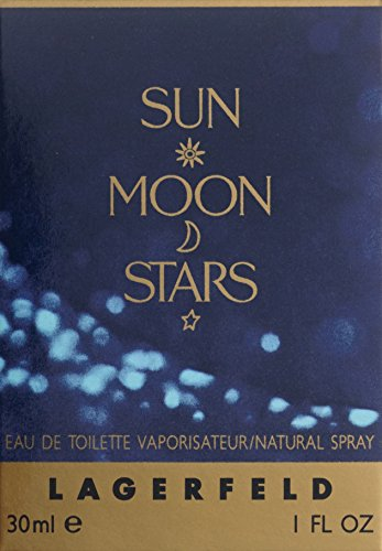 amazon com sun moon stars for women by karl lagerfeld 1 0 oz edt