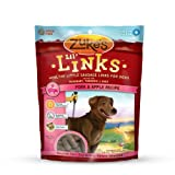 Zuke's Lil' Links Healthy Grain Free Little Sausage Links for Dogs, Pork and Apple Recipe, 6-Ounce, My Pet Supplies