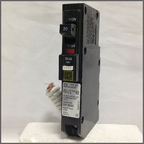 Combo AFCI Plug In Circuit Breaker 1P 15 Amp 120VAC