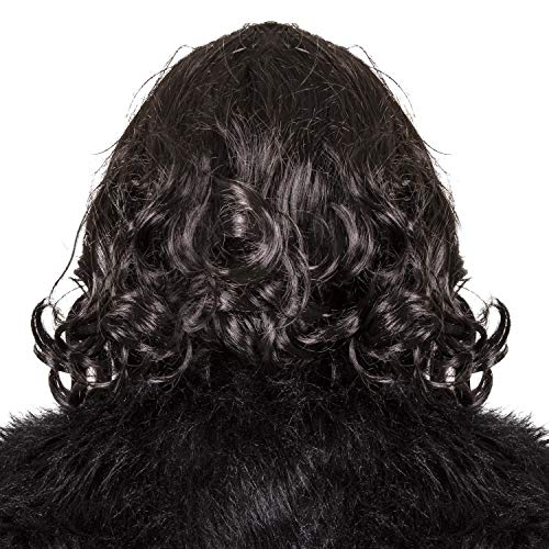 Narwhal Novelties Costume Wig for Men, Black, Halloween, TV Wig - http://coolthings.us
