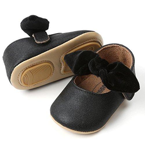 Prevently Baby Kleinkind Schuhe Bow Princess Kleinkindschuhe Baby-Mädchen-Prinzessin  Bowknot-Mode- ...