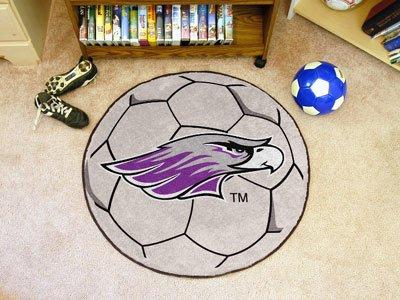 University Round Soccer Mat - 2