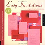 Easy Invitations, Patty Hoffman and Megan Eisen, 1592531644