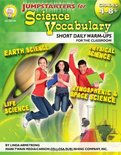 Download Jumpstarters for Science Vocabulary, Grades 4 - 12 pdf