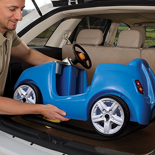 51DGz8ODD4L - Step2 Whisper Ride II Ride On Push Car, Blue