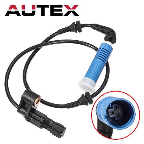 AUTEX 1pc Front ABS Wheel Speed Sensor 34526752681 ALS464 5S10510 compatible with BMW 320i 2002-2004/BMW 325Ci & 330Ci 2001-06/BMW 325i 2002-2005/BMW 330i 2001-05/BMW M3 2003-2006/BMW Z4 2003-08