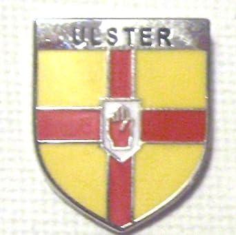 Amazon.com: Irlandés Irlanda Ulster Pin, diseño de amapola y ...