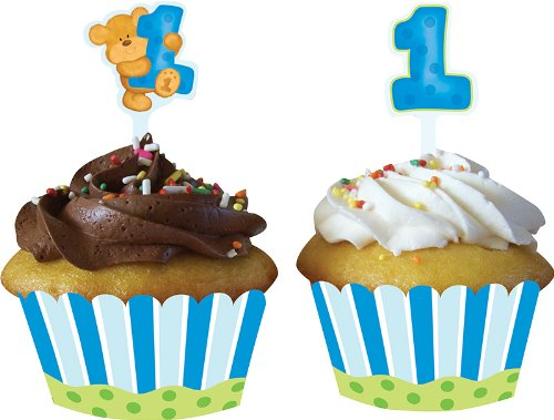 Creative Converting Birthday Cupcake Wrappers product image