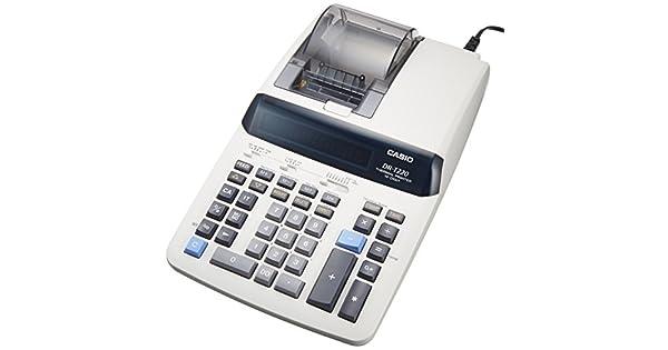 Amazon.com: Casio calculadora impresora computadora Tipo dr ...
